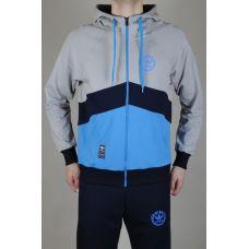 Мастерка Adidas Blue-red-1