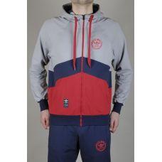 Мастерка Adidas Blue-red-2